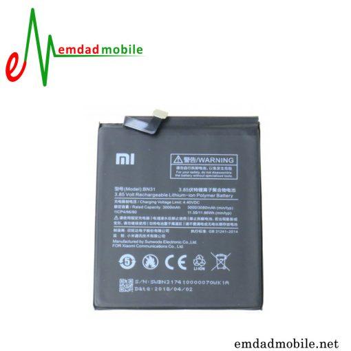 باتری اصلی گوشی شیائومی مدل Redmi Y1(Note 5A)-BN31
