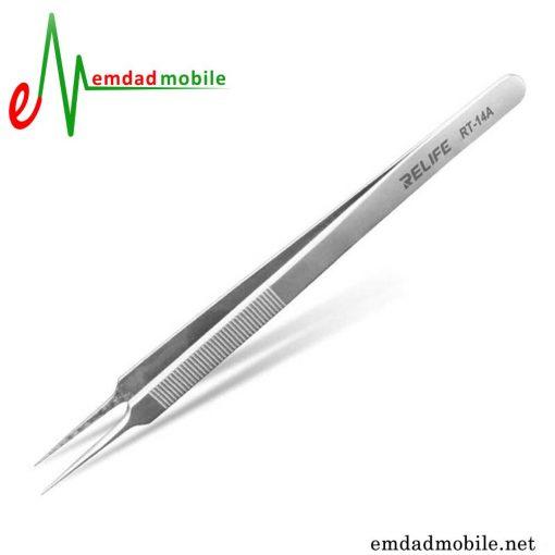 قیمت خرید پنس سر صاف مخصوص تعمیرات موبایل مدل Relife RT-14A