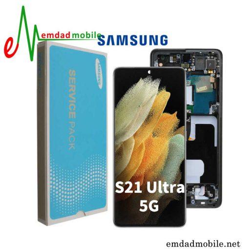 قیمت خرید تاچ ال سی دی اصلی سامسونگ Samsung Galaxy S21 Ultra