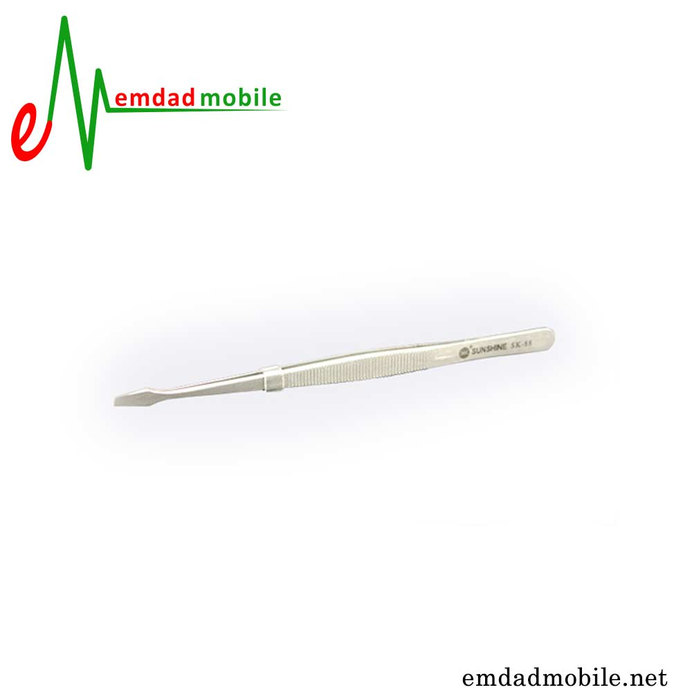 قیمت خرید پنس انبری و سر صاف مخصوص تعمیرات موبایل مدل Sunshine SK-88
