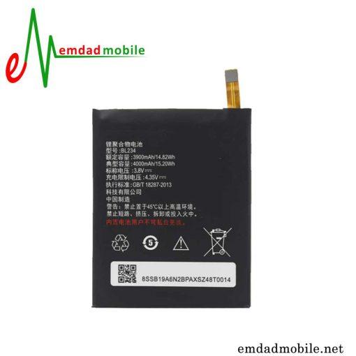 باتری اصلی گوشی لنوو Lenovo Vibe P1m - BL234