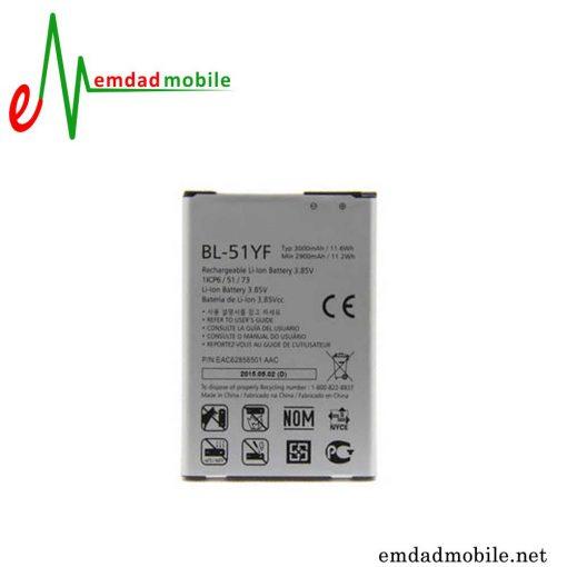 قیمت خرید باتری اصلی گوشی ال جی LG X mach - BL-51YF