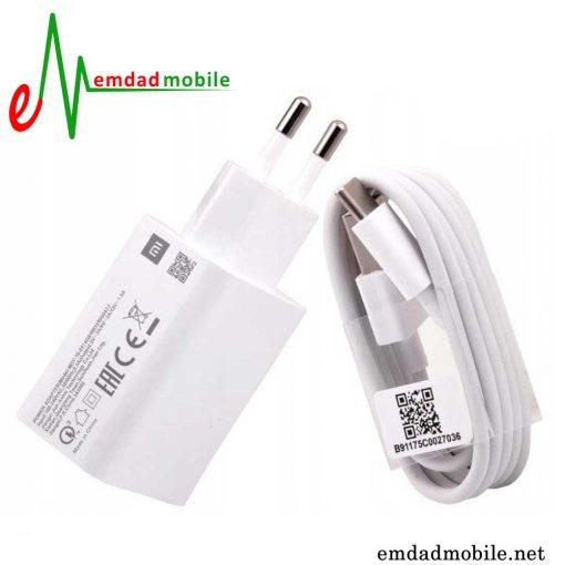 قیمت خرید شارژر، کابل شارژ و آداپتور فست شارژ اصلی شیائومی Xiaomi Mi 8 Lite