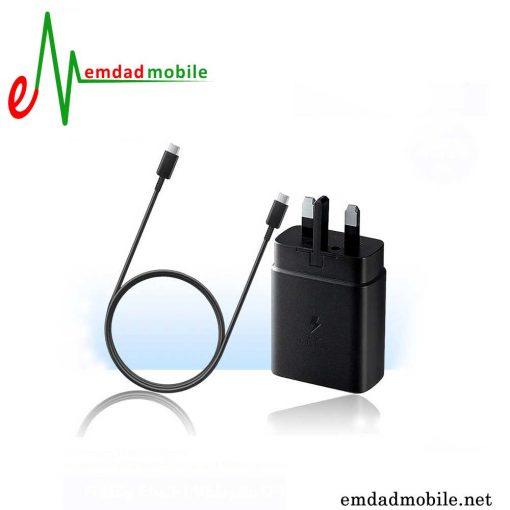 قیمت خرید شارژر، کابل شارژ و آداپتور فست شارژ اصلی سامسونگ Samsung Galaxy A72