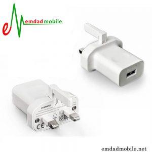 آداپتور شارژر 3 پین اصلی هوآوی 2 آمپر و 5 ولت - Huawei HW-050200BHQ