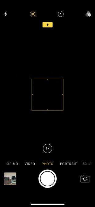 سیاه شدن صفحه دوربین آیفون
