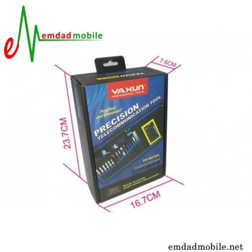 فیمت خرید پک پیچ گوشتی 16 عددی مدل Yaxun YX-6019