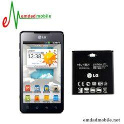 قیمت خرید باتری اصلی گوشی ال جی LG Optimus 3D Max – P720 – BL-48LN.