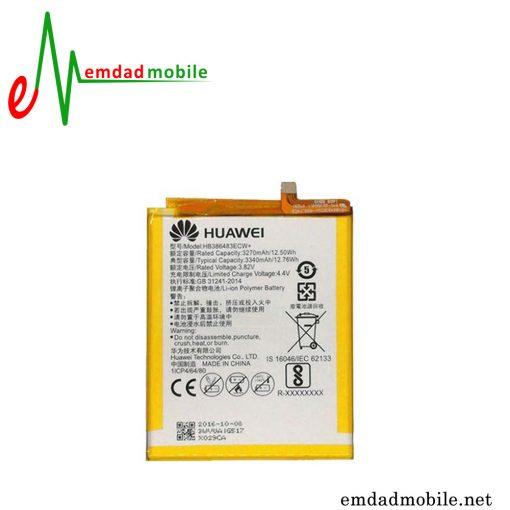 باتری اصلی گوشی هوآوی Huawei Honor 6X با آموزش تعویض