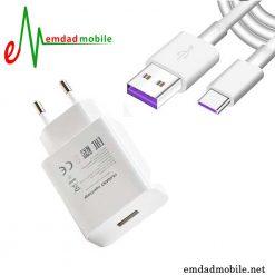 قیمت خرید شارژر، کابل شارژ و آداپتور فست شارژ تایپ سی اصلی هواوی Huawei P30