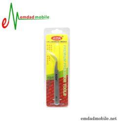 قیمت خرید پنس سر کج مخصوص تعمیرات موبایل مدل Aida AD-15