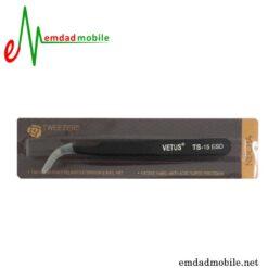 قیمت خرید پنس سر کج مخصوص تعمیرات موبایل مدل Vetus TS-15